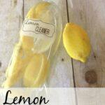 lemon and vinegar cleaner