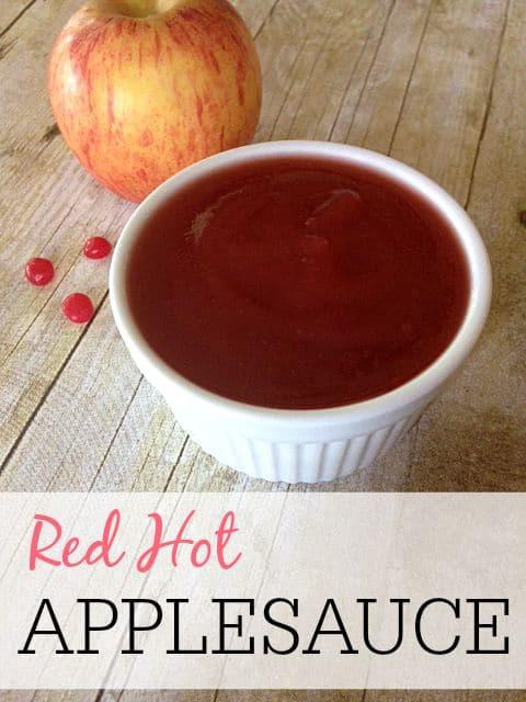 red hot applesauce