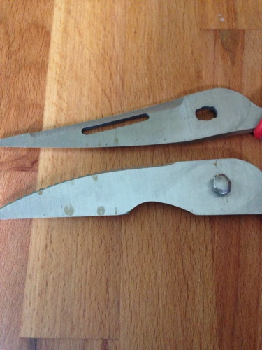 rust on scissors