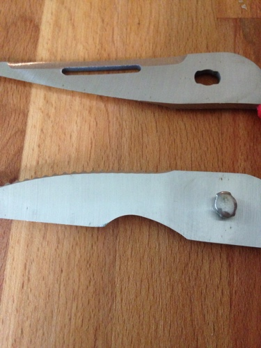 scissors free from rust after using homemade rust remover