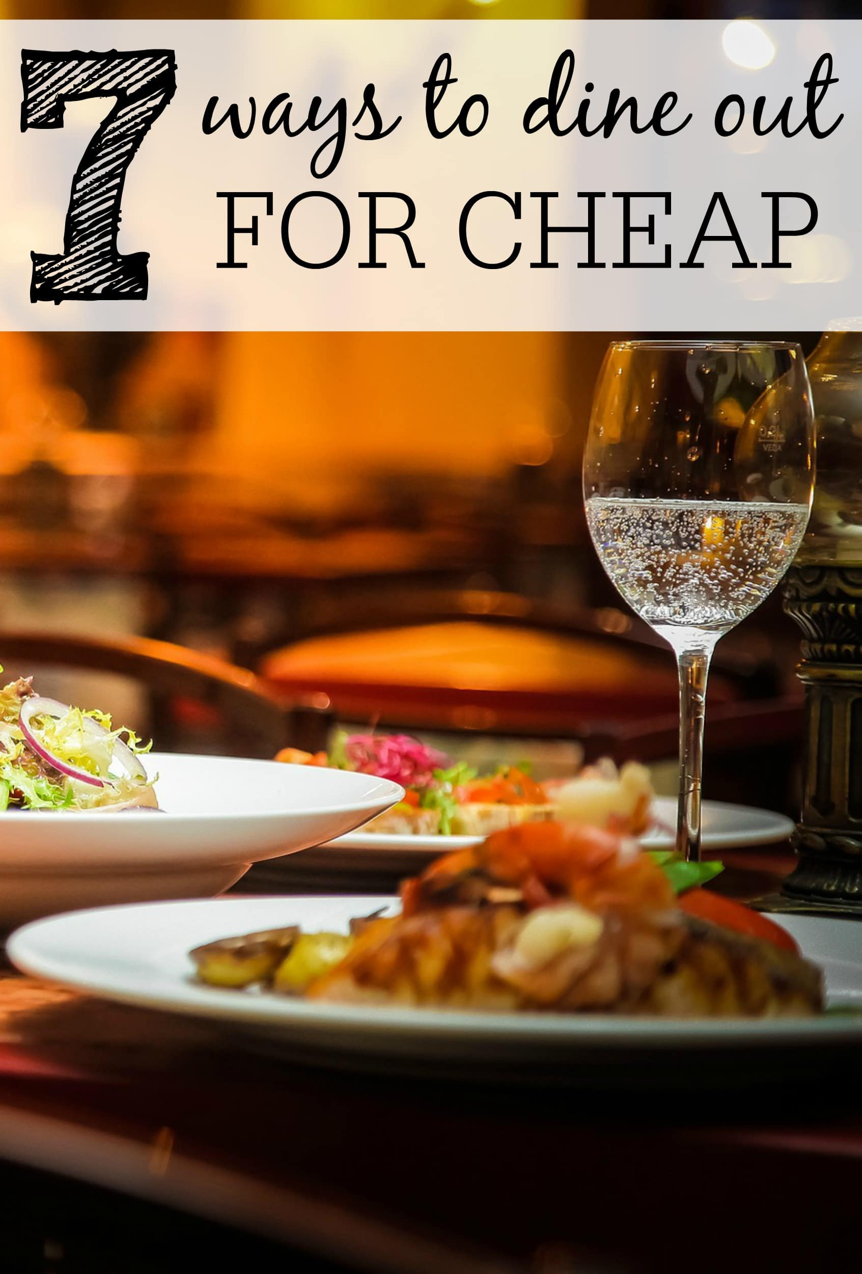 ways to save on dining out