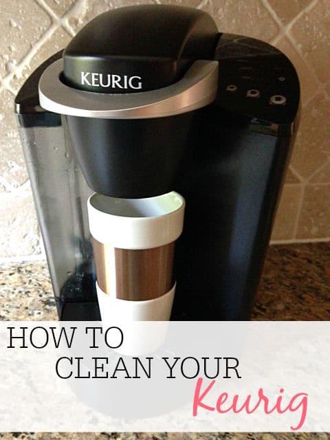 clean your keurig