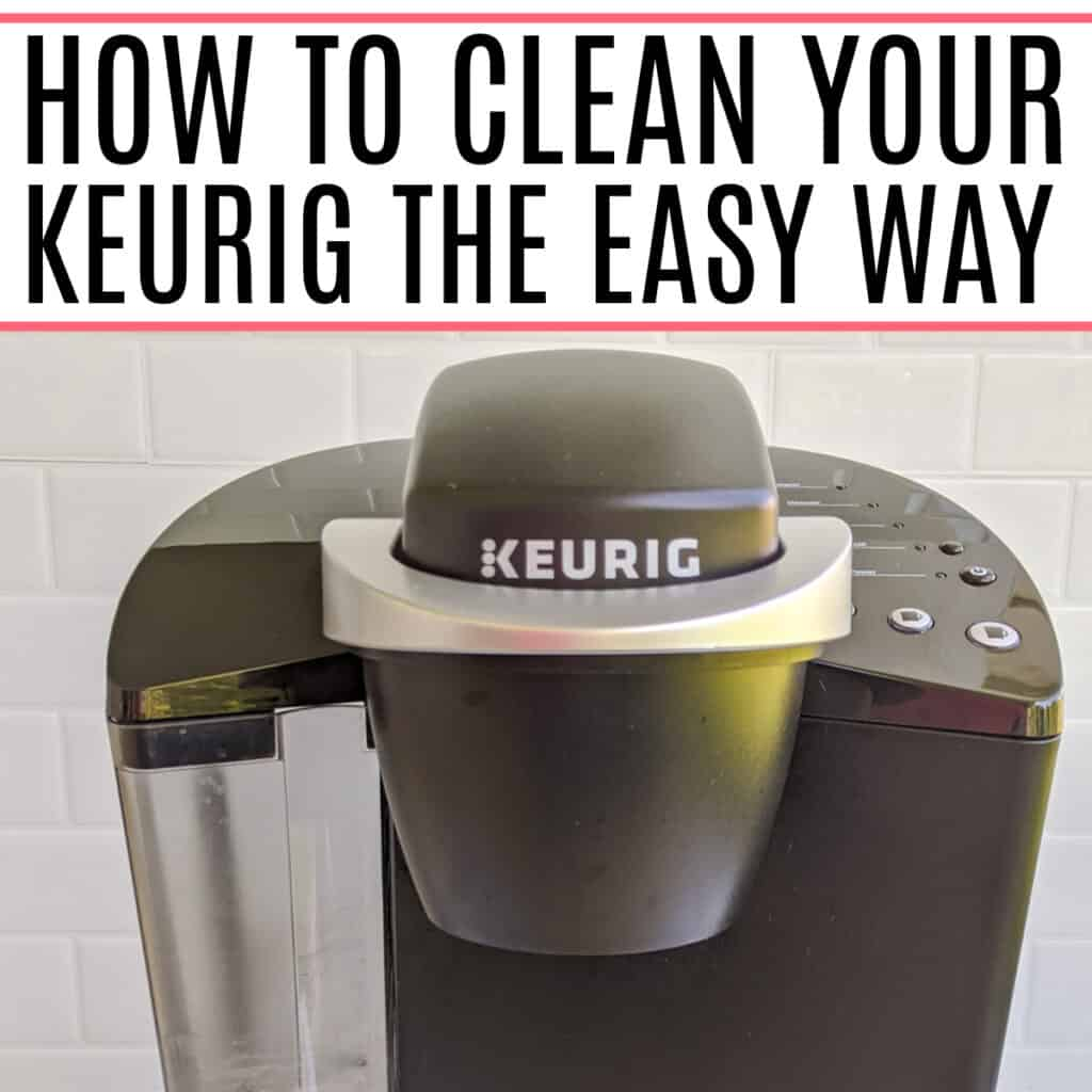 how to clean the keurig with vinegar