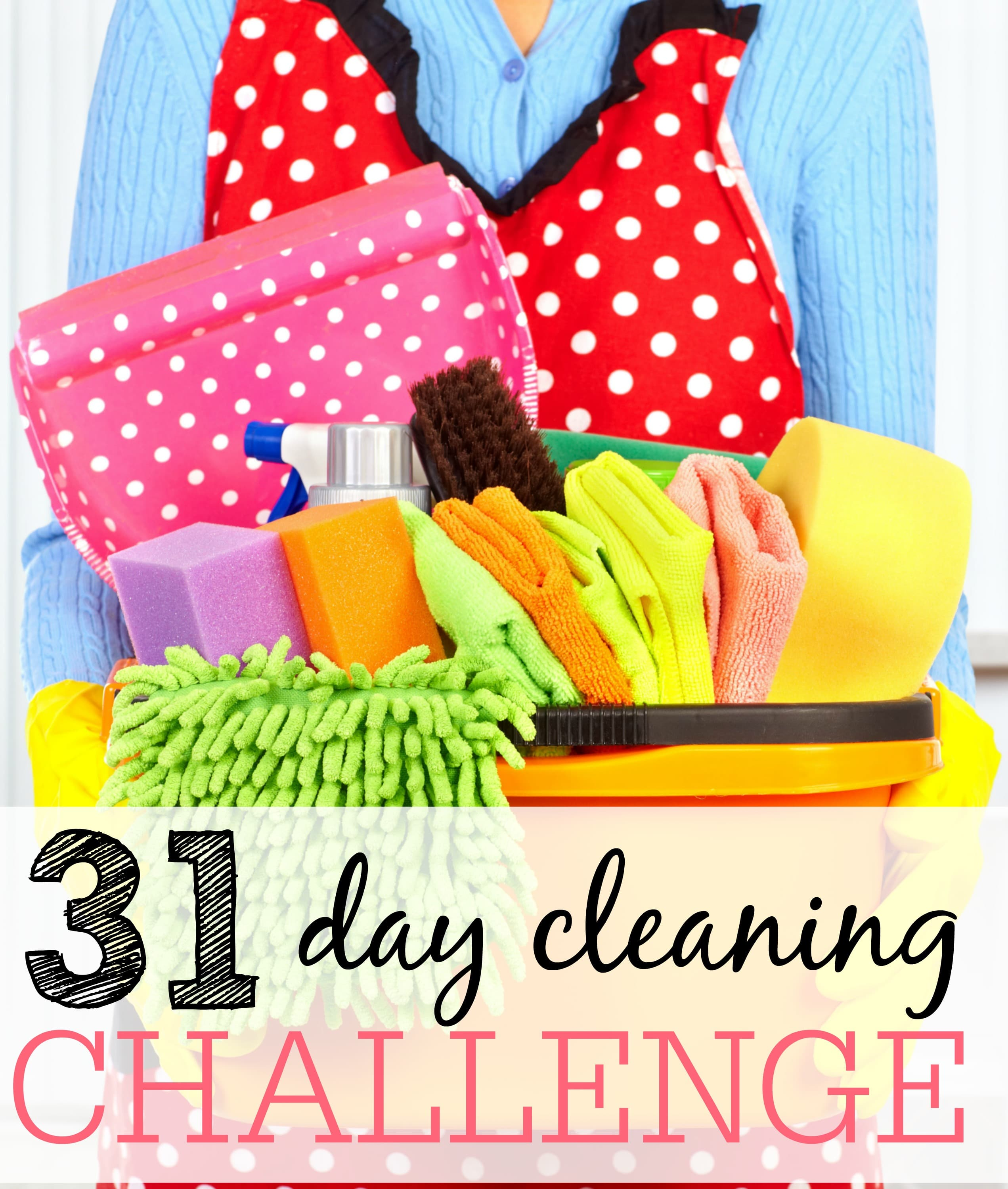 31 day cleaning challenge