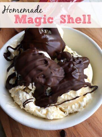 homemade magic shell