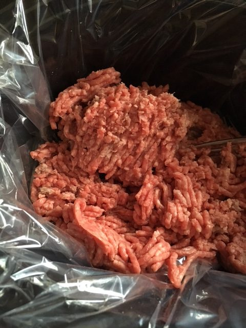 cooking ground beef in crock pot