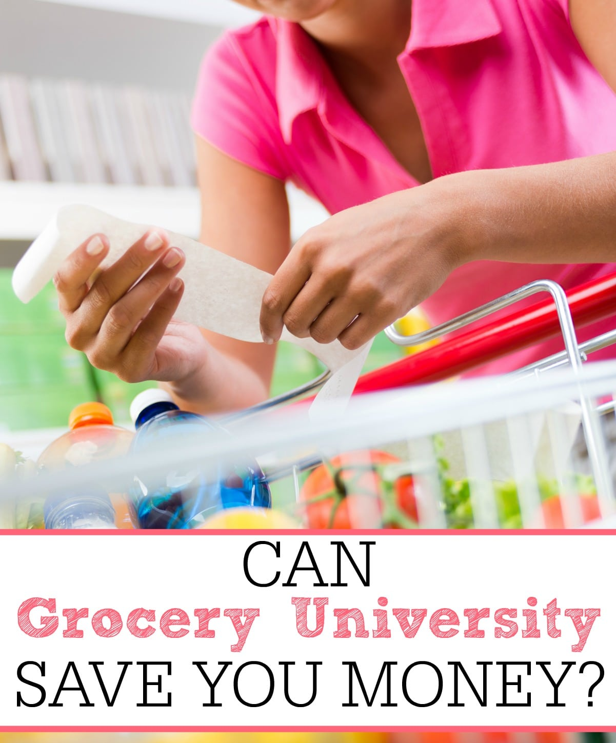 can grocery university save you money