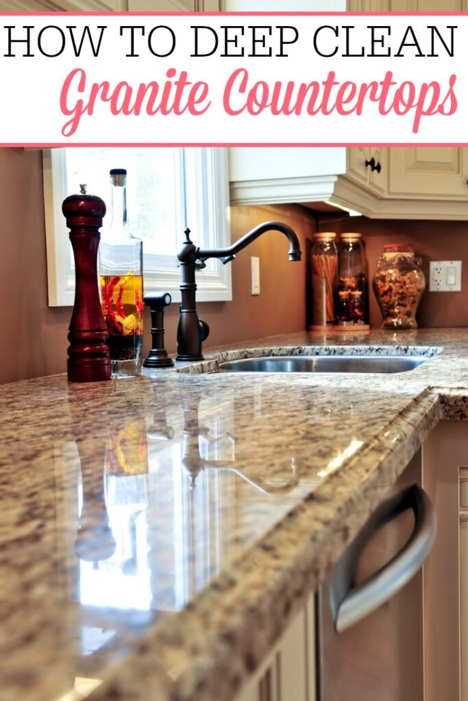 deep clean granite