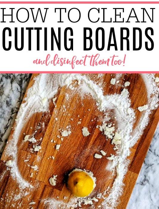 clean cutting boards