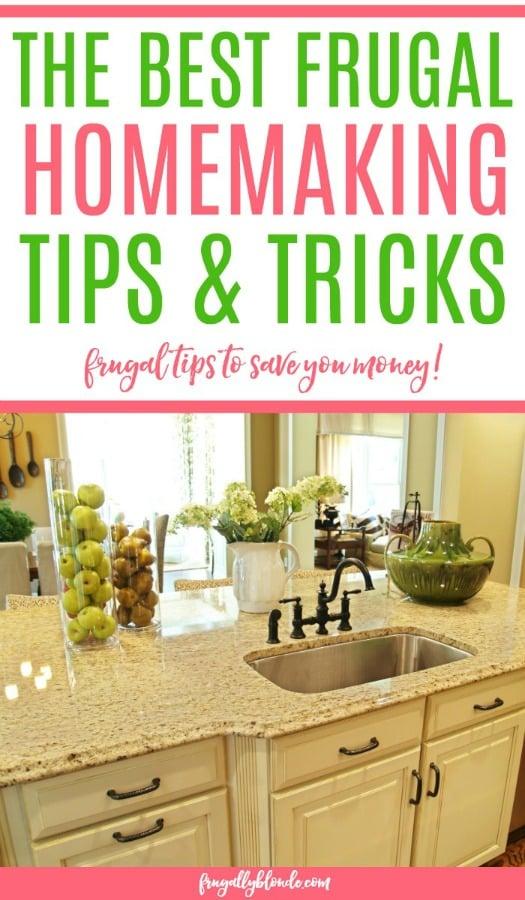 frugal homemaking tips