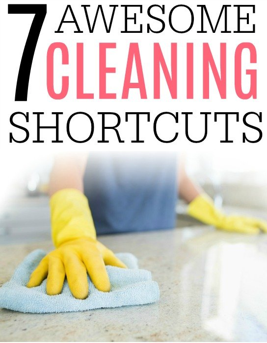 cleaning shortcuts