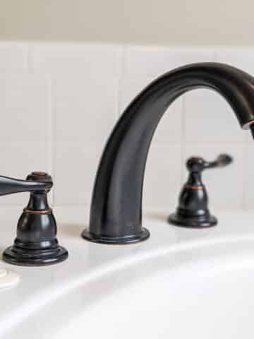 how to clean limescale from faucets