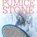clean a pumice stone