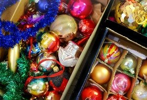clutter free christmas