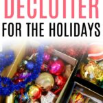 declutter for the holidays