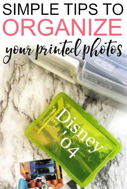 organize print photos