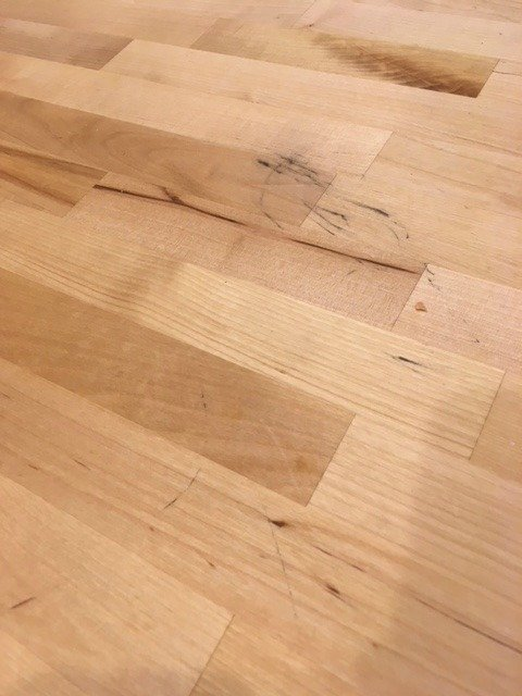 stains on butcher block