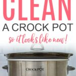 how to clean a slow cooker
