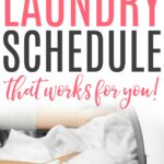 how to create a laundry schedule
