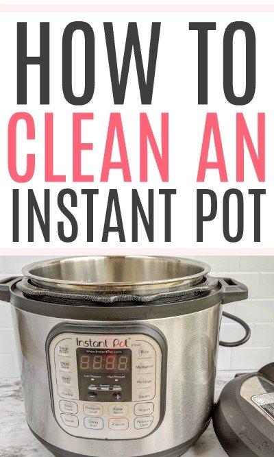 clean an instant pot