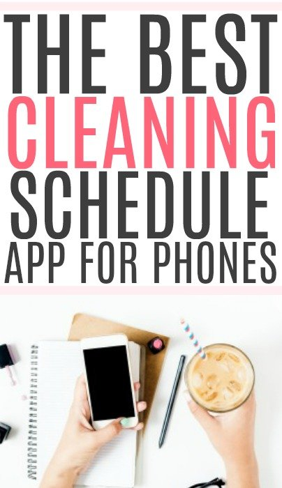 cleaning schedule app