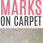 how to remove furniture marks on carpet