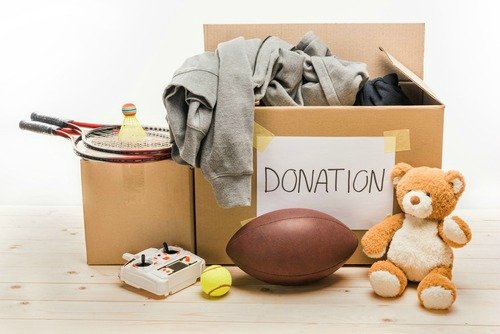 donations  to declutter fast