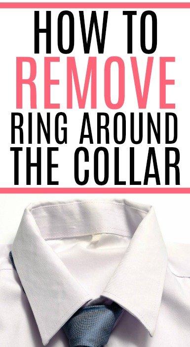 remove ring around the collar
