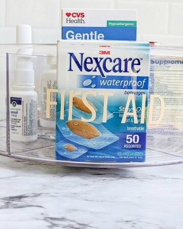 how to organize medicine