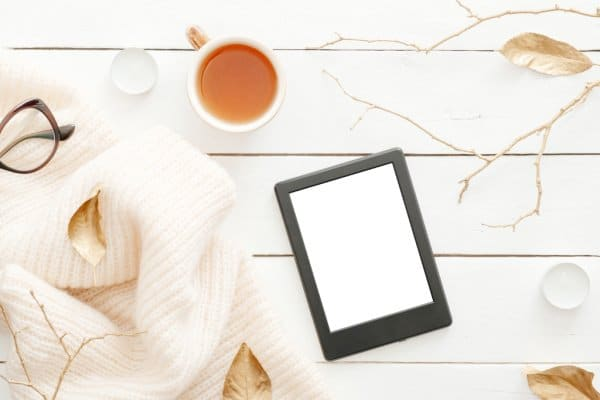 kindle for reading as a clutter free christmas gift idea