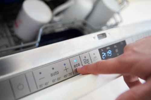 dishwasher settings