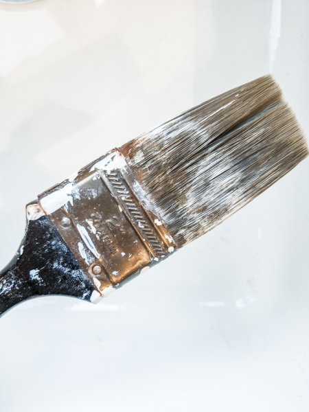 how to remove dried paint from brushes